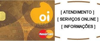 Cartão OI Mastercard segunda 2 via