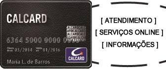 Calcard fatura e serviços